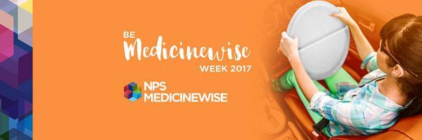 Be MedicineWise Week 2017