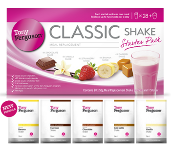 Tony Ferguson Classic Shake Chocolate